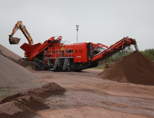 Introducing the NEW TEREX FINLAY V-2050 IMPACT CRUSHER